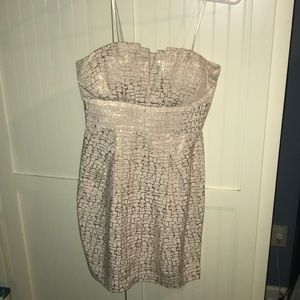 Strapless cocktail dress in perfect condition